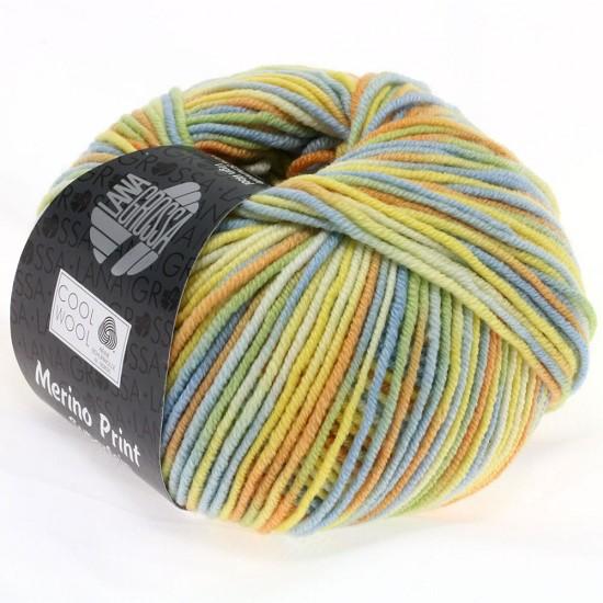 Breiwol lana grossa cool wool print kleur 722 hobbyvision web winkel voor scrappen - Kleur warme kleur cool ...