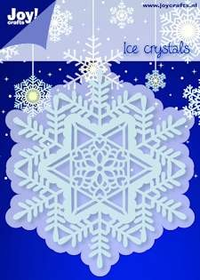 Noor! Design - Cutting & Embossingstencil - Winter Wishes - IJskristal Cirkel