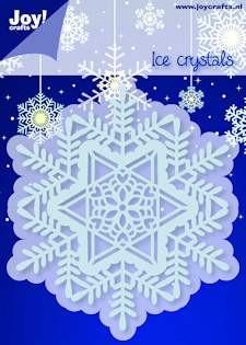 Noor! Design - Cutting & Embossingstencil - Winter Wishes - IJskristal Cirkel