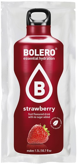 BOLERO - Gezonde Limonade - Strawberry