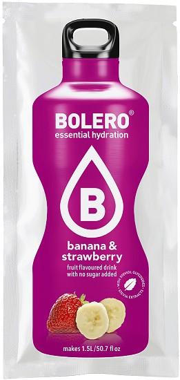 BOLERO - Gezonde Limonade - Banana & Strawberry