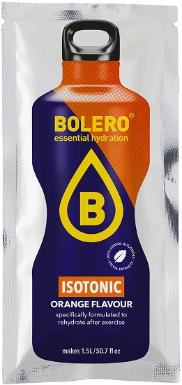 BOLERO - Gezonde Limonade - Isotonic Orange