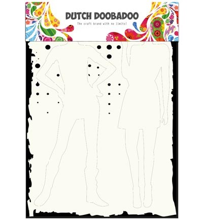 Dutch Doobadoo - Dutch Mask Art - Silhouettes A4