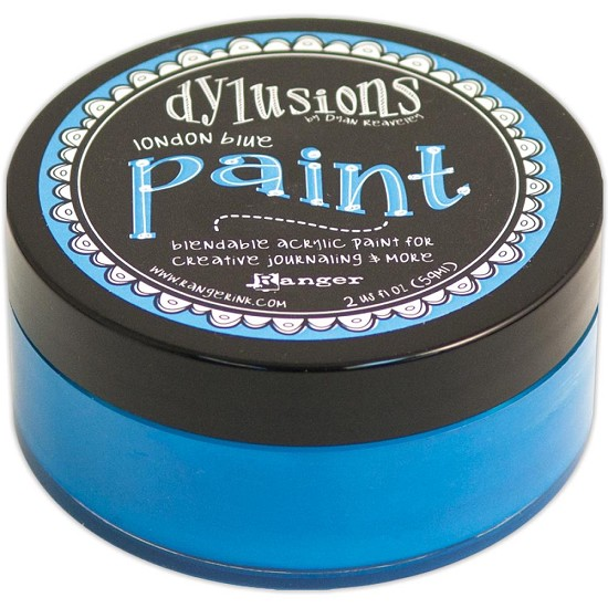 Dyan Reaveley`s - Dylusions Paint - London Blue