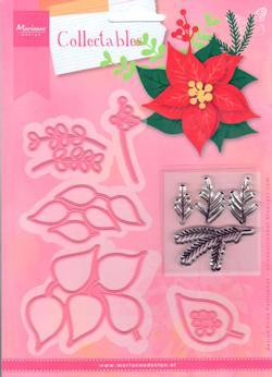 Marianne Design - Collectables set - Eline`s Poinsettia