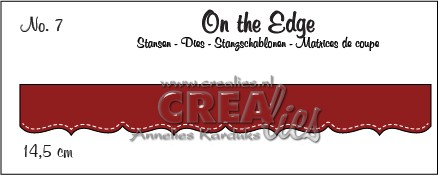 Stansmal - Crealies - Crea-nest-Lies - On the Edge nr 7