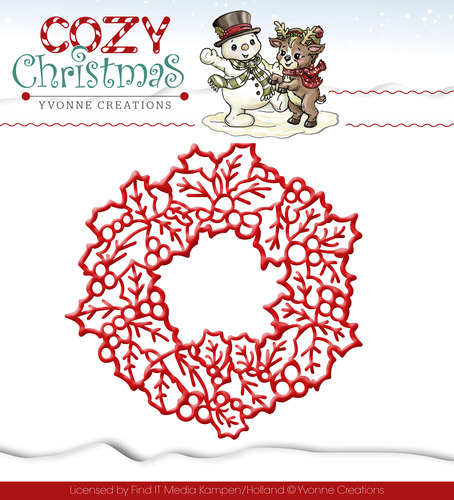 Stansmal Yvonne Creations - Cozy Christmas - Wreath