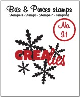 Clearstamp Crealies - Bits & Pieces - No 31 Snowflake