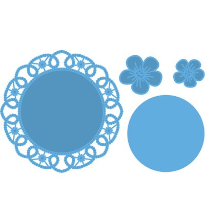 Marianne Design - Creatable - Flower Doily LR0388