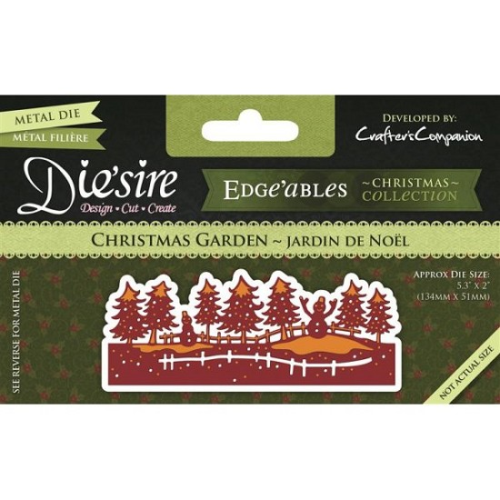 Stansmal Die`sire - Edge`ables - Xmas - Christmas Garden