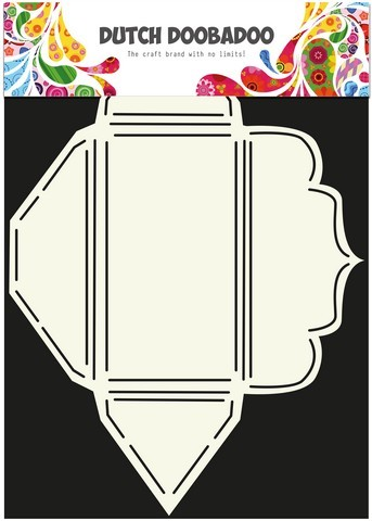 Dutch Doobadoo - Dutch Envelop Art - Scallop rechthoekig