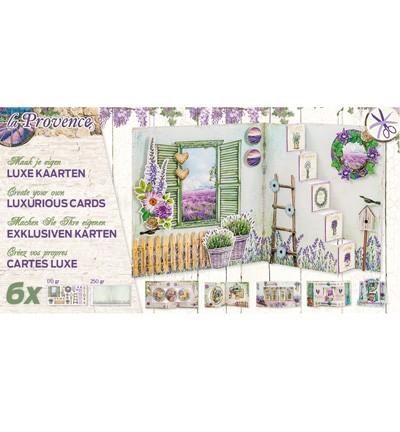 Studio Light - Kaartpakket Luxe gestansde kaarten - La Provence 01