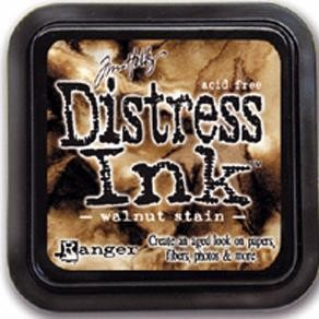 Distress inkt - Walnut stain