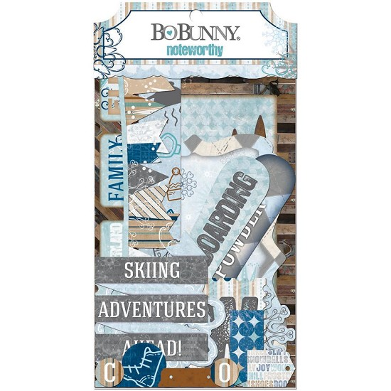 BoBunny - Whiteout - Noteworthy Die-Cuts