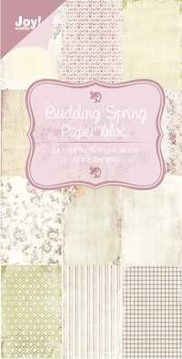 PRE-ORDER 1 - Noor! Design - Paper Bloc 15 x 30 cm - Budding Spring