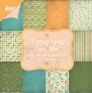 Noor! Design - Paper Bloc 30 x 30 cm - Spring Fever