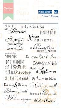 Clearstamp Marianne Design - Project NL - Bloemen