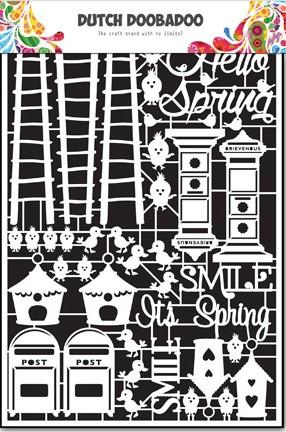 Dutch Doobadoo - Dutch Paper Art - Spring