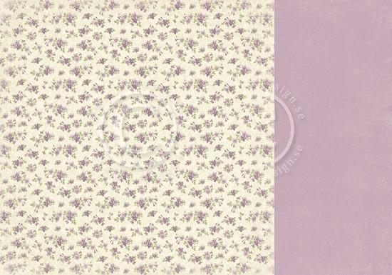 Scrappapier PION Design - Easter Greetings - Violet Field