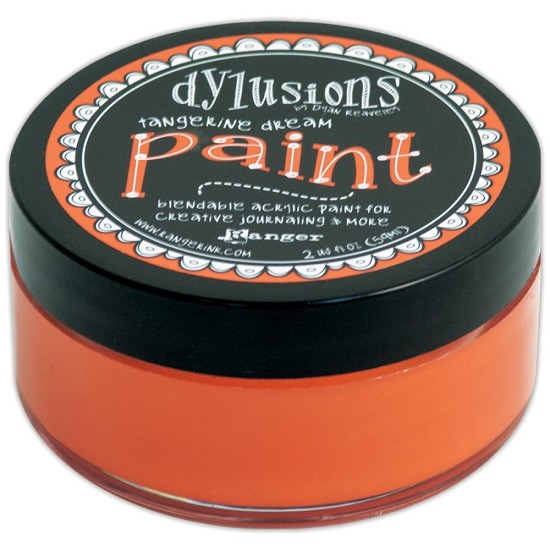 Dyan Reaveley`s - Dylusions Paint - Tangerine Dream