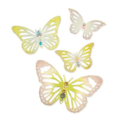 Sizzix - Thinlits Die Set - Winged Beauties