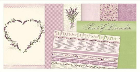 Scrappapier PION Design - Scent of Lavendel - COMPLETE COLLECTIE