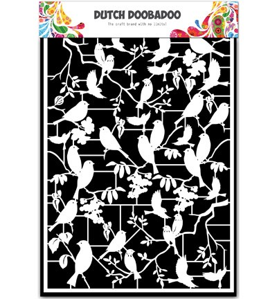 Dutch Doobadoo - Dutch Paper Art - Birds