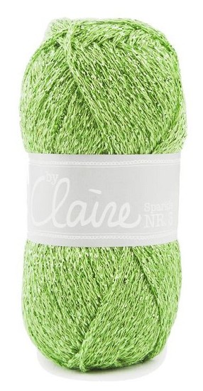 Haakkatoen ByClaire nr 3 - Sparkle - 352 Lime