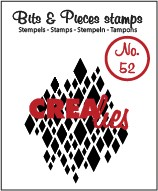 Clearstamp Crealies - Bits & Pieces - No 52