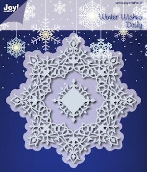 Noor! Design - Winter Wishes - Doily