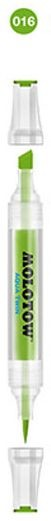 Molotow - Aqua Twin Marker - Kleur 016 Yellow Green