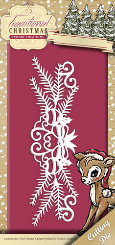 Stansmal Yvonne Creations - Traditional Christmas - Holiday Garland