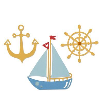 Stansmal Sizzix - Thinlits - Shipmates