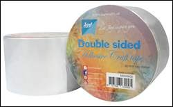 Joy! Crafts - Dubbelzijdig tape rol - 65 mm x 15 mtr