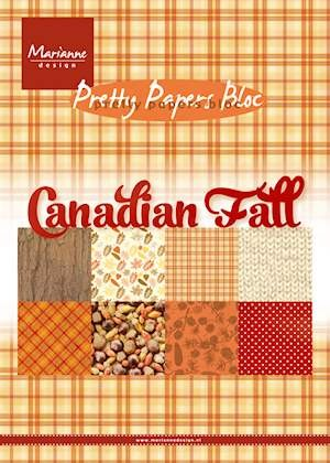 Marianne Design - Pretty Paper Bloc - Canadian fall