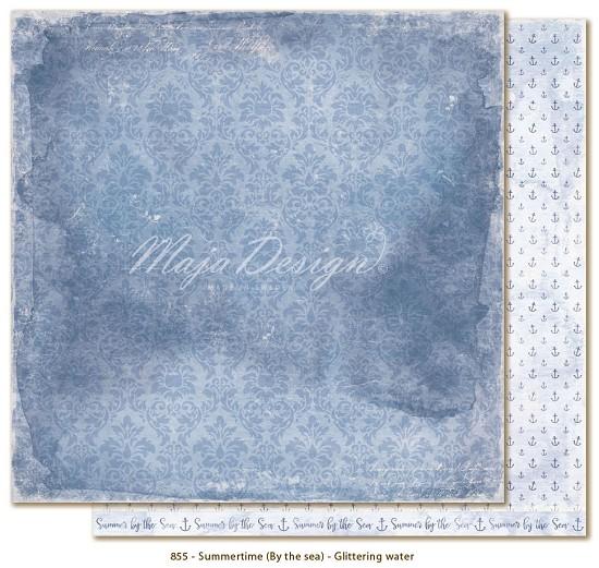 Scrappapier Maja Design - Summertime - Glittering water