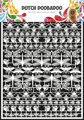 Dutch Doobadoo - Dutch Paper Art - Insecten