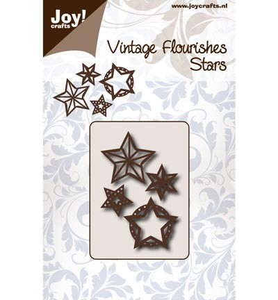 Noor! Design - Vintage Flourishes - Stars