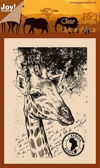 Noor! Design - Clearstamp - Out of Africa - Giraffe