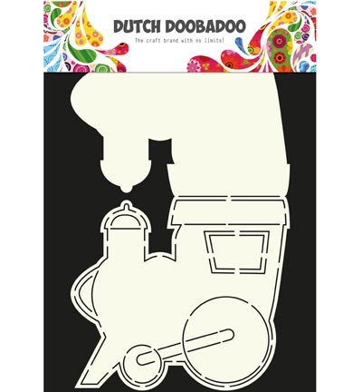 Dutch Doobadoo - Dutch Card Art - Trein