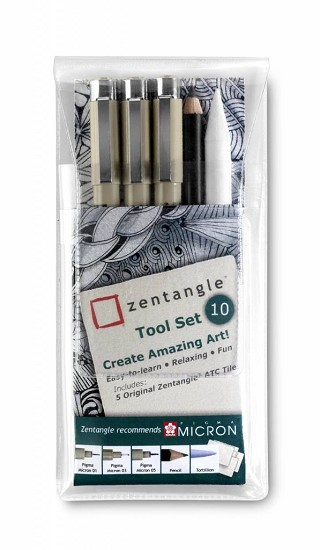 Sakura - Zentangle Tool set