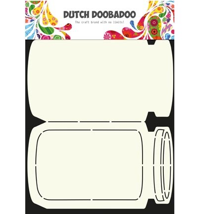 Dutch Doobadoo - Card Art - Cookie Jar