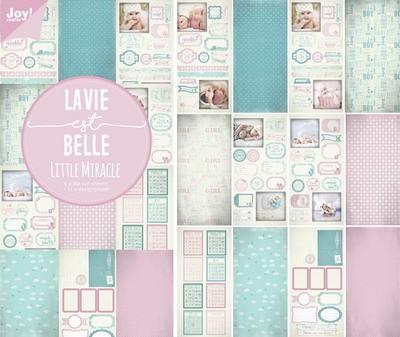 Noor! Design - Papier & Stansblock La Vie Est Belle - Little Miracles