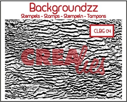 Clearstamp Crealies - Backgroundzz - 04 strand