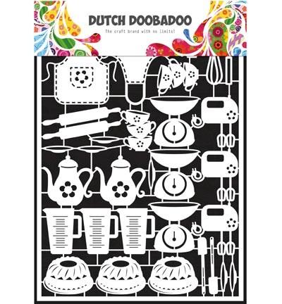 Dutch Doobadoo - Dutch Paper Art - Baking