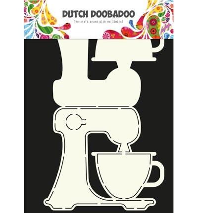 Dutch Doobadoo - Dutch Card Art - Kitchen Aid