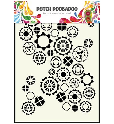 Dutch Doobadoo - Dutch Mask Art - Gears