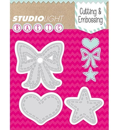 Studio Light - Basics - Cutting & Embossing stencil - STENCILSL28