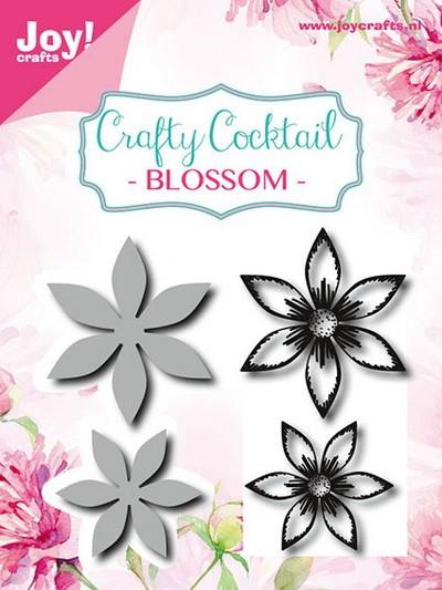 Noor! Design - Stamp + Stencil - Crafty Cocktail Flowers 2