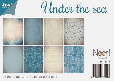 Noor! Design - Paperpad A4 - Under the Sea